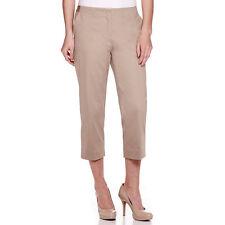 Worthington Sateen Cropped Pants Size 6P, 8P Desert Khaki New