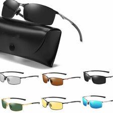 Men's HD Aluminium Polarized Photochromic Sunglasses Chameleon Driving Glasses