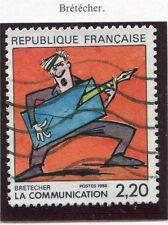TIMBRE FRANCE OBLITERE N° 2509 / BD / BRETECHER / Photo non contractuelle
