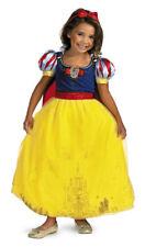 Child Girls Disney Fairytale Deluxe SNOW WHITE PRESTIGE Princess Dress