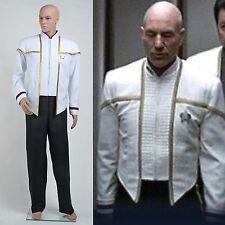 NEW Star Trek Insurrection Nemesis Mess Dress Uniform White Custom Made Q.82