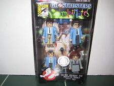 GhostBusters Mini Mates Peter Ray Egon Dana Exclusive