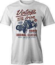 Vintage Iron American Hot Rod 34 Pick Up Retro T Shirt