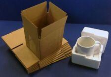 POLYSTYRENE FOAM MUG BOXES PACKS + SINGLE WALL OUTER BOX