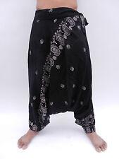Corbata Lado Harén Pantalones para Boho Festival Hippy Hippie Yoga Pantalones Bombachos Alibaba