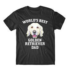 World's Best Golden Retriever Dad Dog Owner Graphic T-Shirt