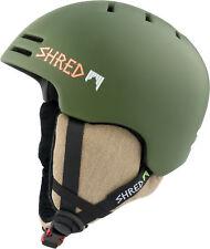 Shred Ski Helmet Snowboard Helmet Green Slam-Cap Slytech XT2 Ice Stick