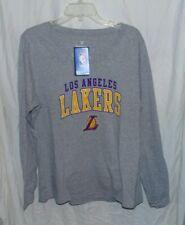 New Fanatics Los Angeles Lakers women shirt gray size S and XL
