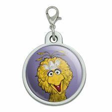 New listing Sesame Street Vintage Big Bird Chrome Plated Metal Pet Dog Cat Id Tag