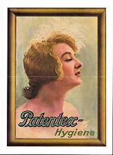 """4 Seitiger Prospekt """"Patentex-Hygiene"""" für die Frau. Zum 25. Jubiläum 1931"""