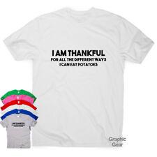 Estoy muy agradecido-Divertido Camisetas Regalo para Hombre Mujer Eslogan Top humor sarcástico