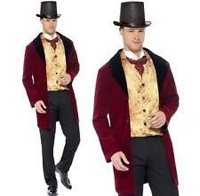 Uomo Edwardiano uomo Costume Storico uomo Completo Nuovo by Smiffys