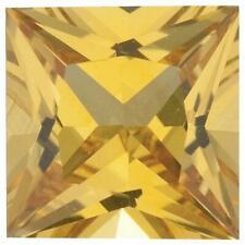 Natural Fine Rich Yellow Sapphire - Square Princess - Sri Lanka - Top Grade