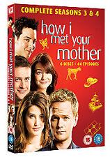 How I Met Your Mother - Season 3-4 [DVD], Very Good DVD, Josh Radnor, Jason Sege