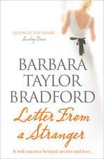 Letter from a Stranger, Barbara Taylor Bradford, New Book