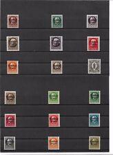 Bayern 1919, Einzelmarken aus Michelnrn: 116 - 195 **, postfrisch **, Auswahl