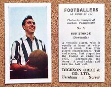 DICKSON ORDE 1960 football (Soccer) cigarette cards - VARIOUS