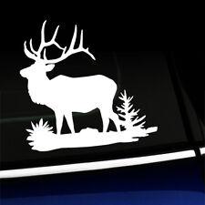 Bull Elk Full Body - Sticker Decal - You choose color