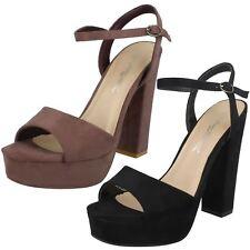 Ladies Anne Michelle High Heel Platform Sandals