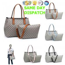 Da Donna in Ecopelle Designer Inspired Controllato Spalla Tote Bag FASHION Handbag