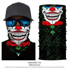 Skull Clown Ski Motorcycle Neck Warmer Cycling Scarf Face Mask Balaclava Bandana