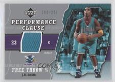 2005 Upper Deck Performance Clause Jersey #PCJ-JR JR Smith Oklahoma City Hornets