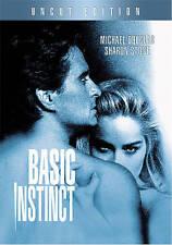 Basic Instinct (DVD, 2007, Canadian Ultimate Edition Uncut)