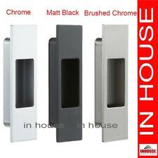 Rectangle Edge pull, flush pull,finger pull-Satin,Polished,Matt Black.92x26mm