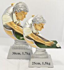 Große Billard - Billiard Trophäe / Pokal Resine incl. Wunsch Beschriftung