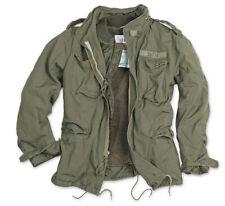 Surplus M65 Regimiento Chaqueta Militar Vintage Forro Polar OLIV