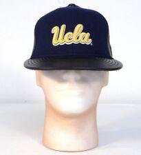137becc830663 New Era 59Fifty UCLA Bruins Leather   Wool Baseball Cap Adult Fitted NWT