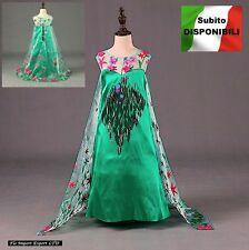 Frozen Fever Vestito Carnevale Elsa Dress up Costumes Frozen Fever 789042B