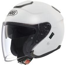 SHOEI J-CRUISE BIANCO VISO APERTO MOTO CUSTOM CRUISER Casco da scooter città