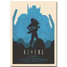 Z55 Aliens Queen Alien Xenomorph Movie Hot Silk Poster 36x24 40x27