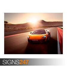 2015 McLaren 570S (0043) cartel de auto-foto arte cartel impresión A0 A1 A2 A3 A4