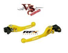 RFX Pro Series CNC Flexible Flexi Lever Set Suzuki RMZ250 RMZ450 07-15