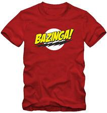 T-shirt /Maglietta Bazinga  Big Bang Theory  Green Lantern  Serie TV Kraz