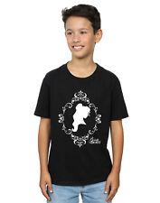 Disney Princess Niños Belle Silhouette Camiseta