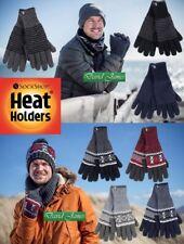 Mens Heat Holders Heat Weaver Winter Warm Thermal Karlstad / Bergen Gloves NEW