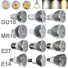 Dimmable LED Spotlight Bulbs GU10 MR16 E27 E14 9W 12W 15W 220V 240V Spot Lamps