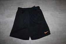 Nike Men's Sport Training Shorts Black Orange SIZE S or L New with Label