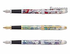 Cross century ii botanica stylo plume fourni dans une boîte cadeau-choix couleur/nib