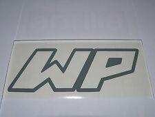 Adesivo WP white power moto vinyl vinile decal window sport r1 r6 636 zxr etc