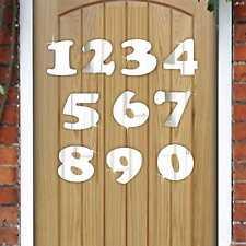 5cm Acrilico Specchio numero (0-9) - Casa / numero di porta / Scrapbooking / Craft