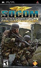 Sony PSP SOCOM U.S. Navy Seals Fireteam Bravo 2 VideoGames