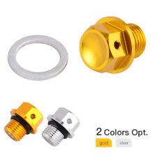 CNC Oil Filter Plug Cap For Suzuki DR-Z250 DR-Z70 DR-Z100 DRZ400S/E/SM CRANKCASE
