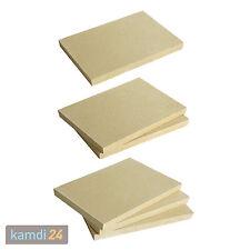 Vermiculite Platte Hitzeschutz Schamotte-Ersatz Vermiculit, verschiedene Größen