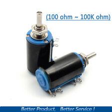 WXD3-13-2W 10 Turn Potentiometer Wirewound Variable Precision Multi-turn POT -US