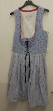 Damen Trachten Kleid blau weiß  Gr. 38 von Lisa´s Landhaus