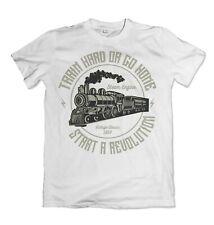 Train  mens t shirt S-3XL
